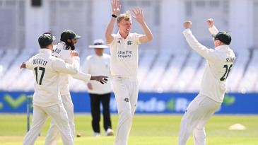 Lyndon James made big inroads during Essex's second innings