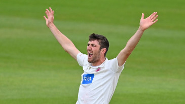 Craig Overton played a star turn for Somerset