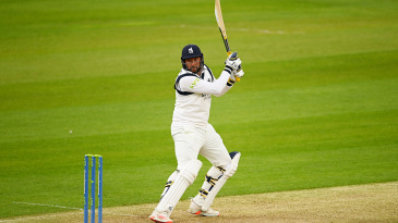 Tim Bresnan dug in with the bat