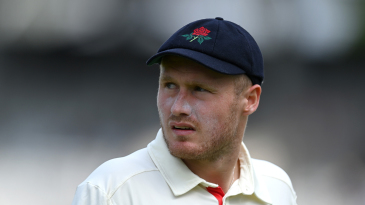Matt Parkinson was among the wicket-takers on the first day of the Roses clash