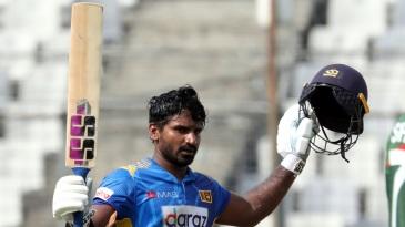 Kusal Perera scored his sixth ODI century