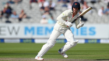 Keaton Jennings reached his fifty before lunch on the second day