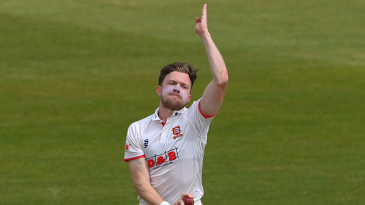 Sam Cook took four wickets in Durham's first innings