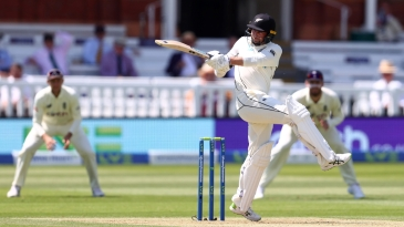Devon Conway turns on the style on Test debut