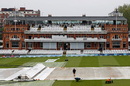The covers were on throughout the third morning, 1st LV= Insurance Test, England vs New Zealand, 3rd day, Lord's, June 4, 2021