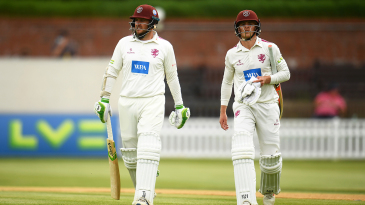 Steve Davies and Tom Abell built Somerset's lead