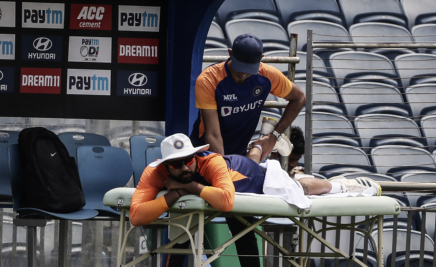 India's second-string players have access to the same physios, trainers and other support staff that the likes of Rohit Sharma do