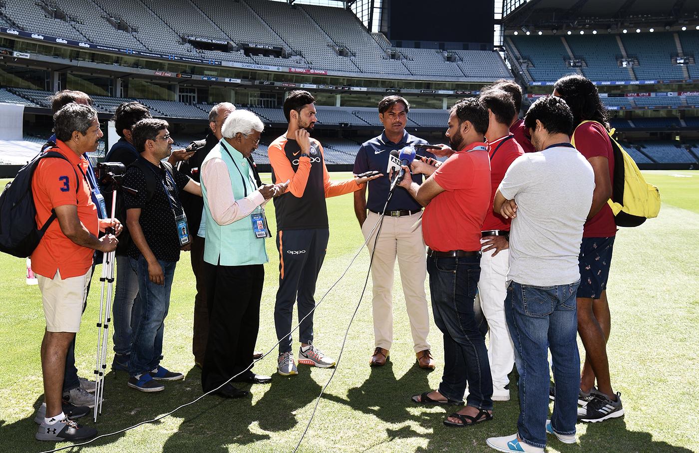 MSK Prasad (centre) on India's bowlers: