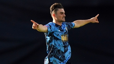 Jordan Thompson claimed three wickets in Yorkshire's victory over Birmingham