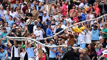 Fans make merry at a lively Edgbaston