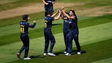 Ruaidhri Smith celebrates a breakthrough