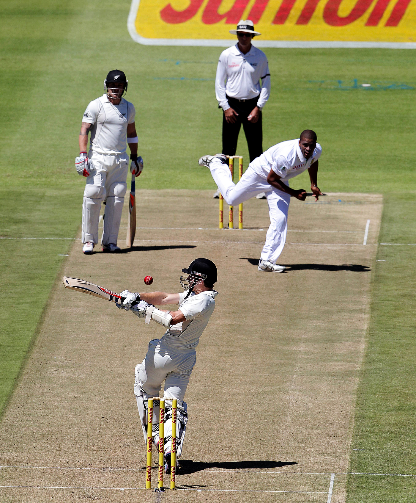 45 ways to say we suck: Vernon Philander was nearly unplayable in Cape Town in 2013, but the New Zealand leadership understood that it was time to look within themselves if they wanted to move past the rout