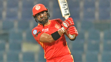 Ifthikar Ahmed hit five sixes in his 39-ball 71