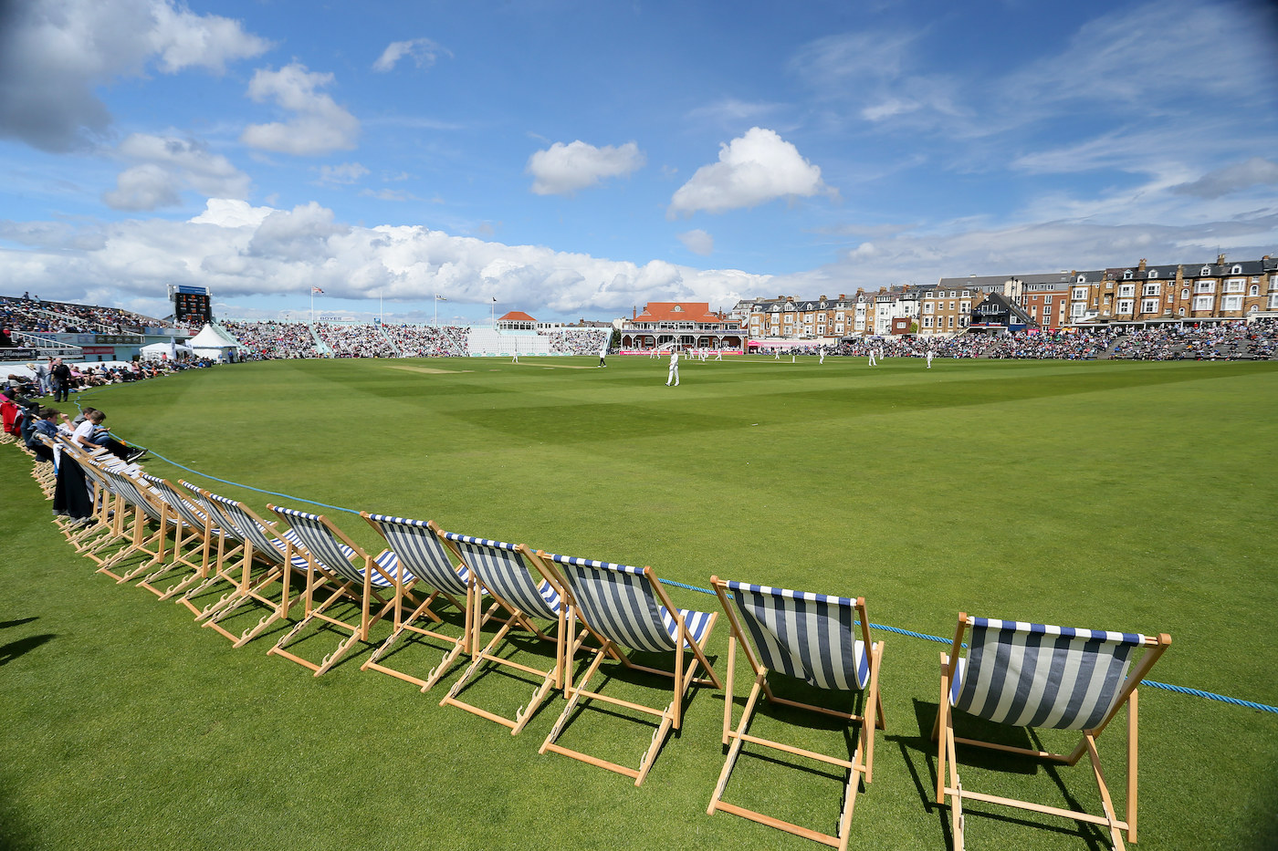 Are they called deck chairs because you're close enough to get decked by a passing ball?