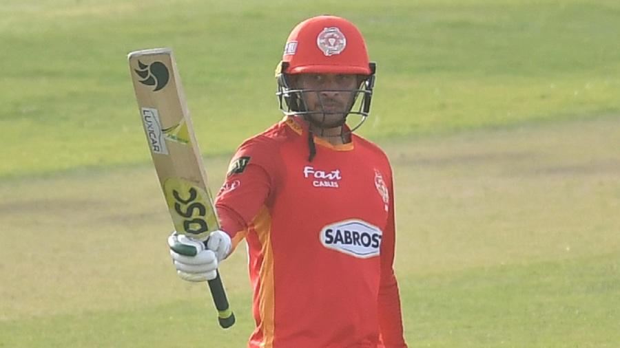 Usman Khawaja scored a quickfire fifty
