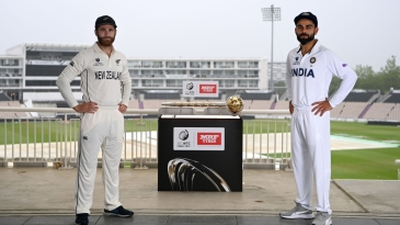 Prize money and bragging rights aside, there's the Test mace up for grabs for Williamson's New Zealand and Kohli's India in the WTC final
