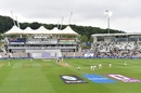 The lights were on most of day two of the WTC final at the Ageas Bowl, India vs New Zealand, World Test Championship (WTC) final, 2nd day, Southampton, June 19, 2021