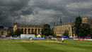 Brooding skies above Cheltenham College, LV= Insurance County Championship, Gloucestershire vs Middlesex, Cheltenham, July 6, 2021