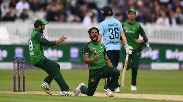 Hasan Ali ripped through England's middle order to lift Pakistan