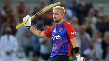 Liam Livingstone made a 42-ball century, the fastest in England's T20I history