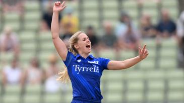 Freya Davies' slower ball did for Shafali Verma