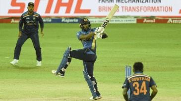 Avishka Fernando hit a brisk half-century