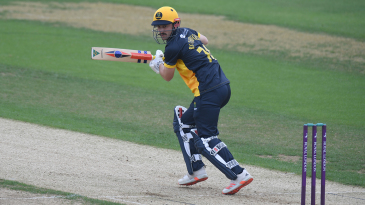 Hamish Rutherford got Glamorgan off to a solid start