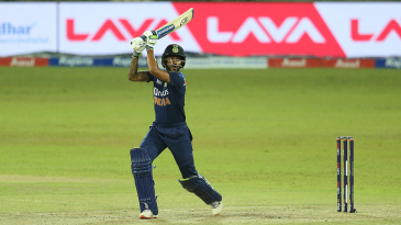 Shikhar Dhawan flays on the off side