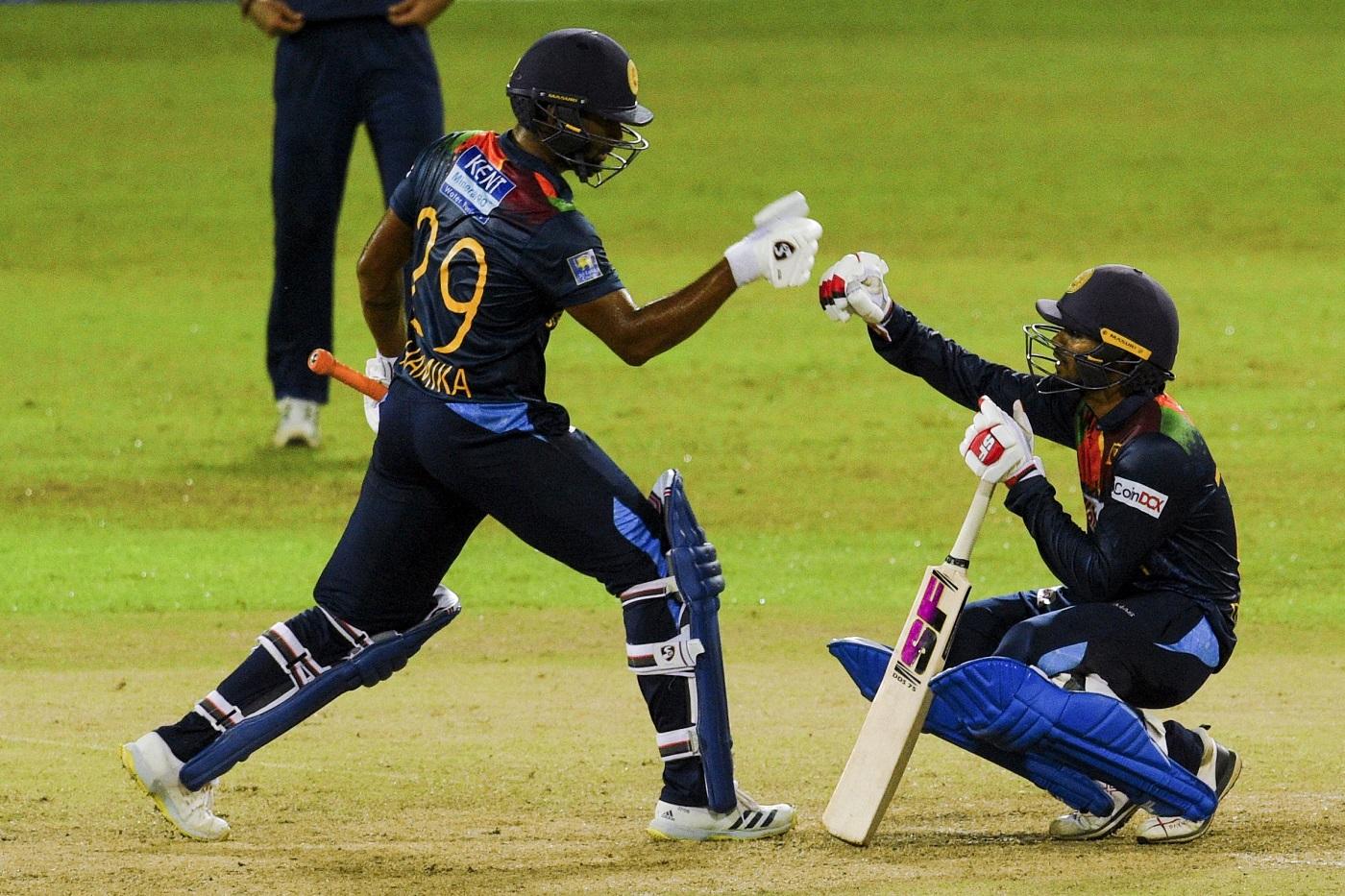 Sri Lanka beat India Sri Lanka won by 4 wickets (with 2 balls remaining) - India  vs Sri Lanka, India tour of Sri Lanka, 2nd T20I Match Summary, Report    ESPNcricinfo.com