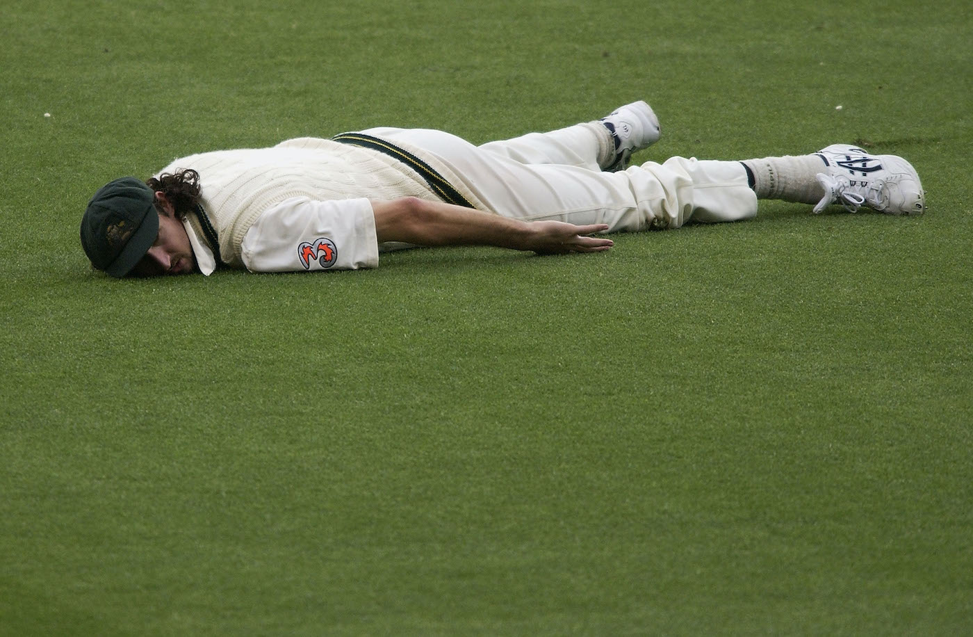 Jason Gillespie knows sometimes the best way to deal with a disappointment is a lie-down