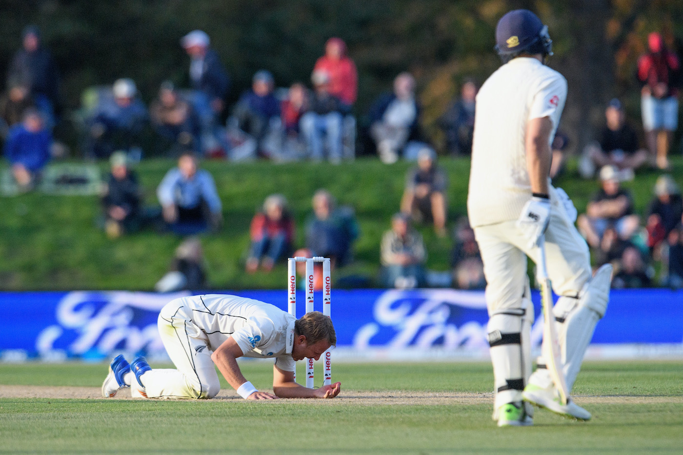 New Zealand have some of the best fielding in cricket because they don't want to provoke this reaction from Wagner