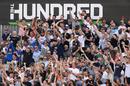 The crowd get into it, Manchester Originals vs Birmingham Phoenix, Men's Hundred, Old Trafford, July 25, 2021