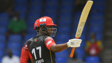 Evin Lewis led the Patriots' batting charge with a 39-ball 62