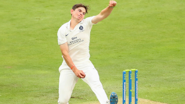 Ethan Bamber claimed a four-wicket haul
