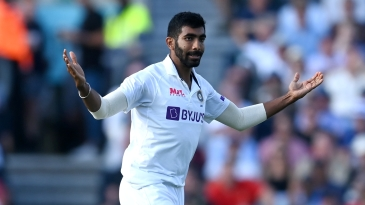 Jasprit Bumrah knocked over England's openers cheaply