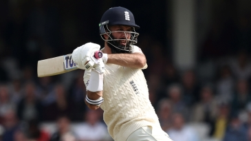 Moeen Ali turns on the style