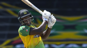 Rovman Powell struck four sixes in 37 from 19