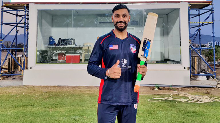 Jaskaran Malhotra smashed six sixes in an over during his unbeaten 173