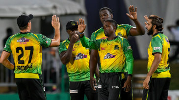 Jamaica Tallawahs produced a fine all-round performance