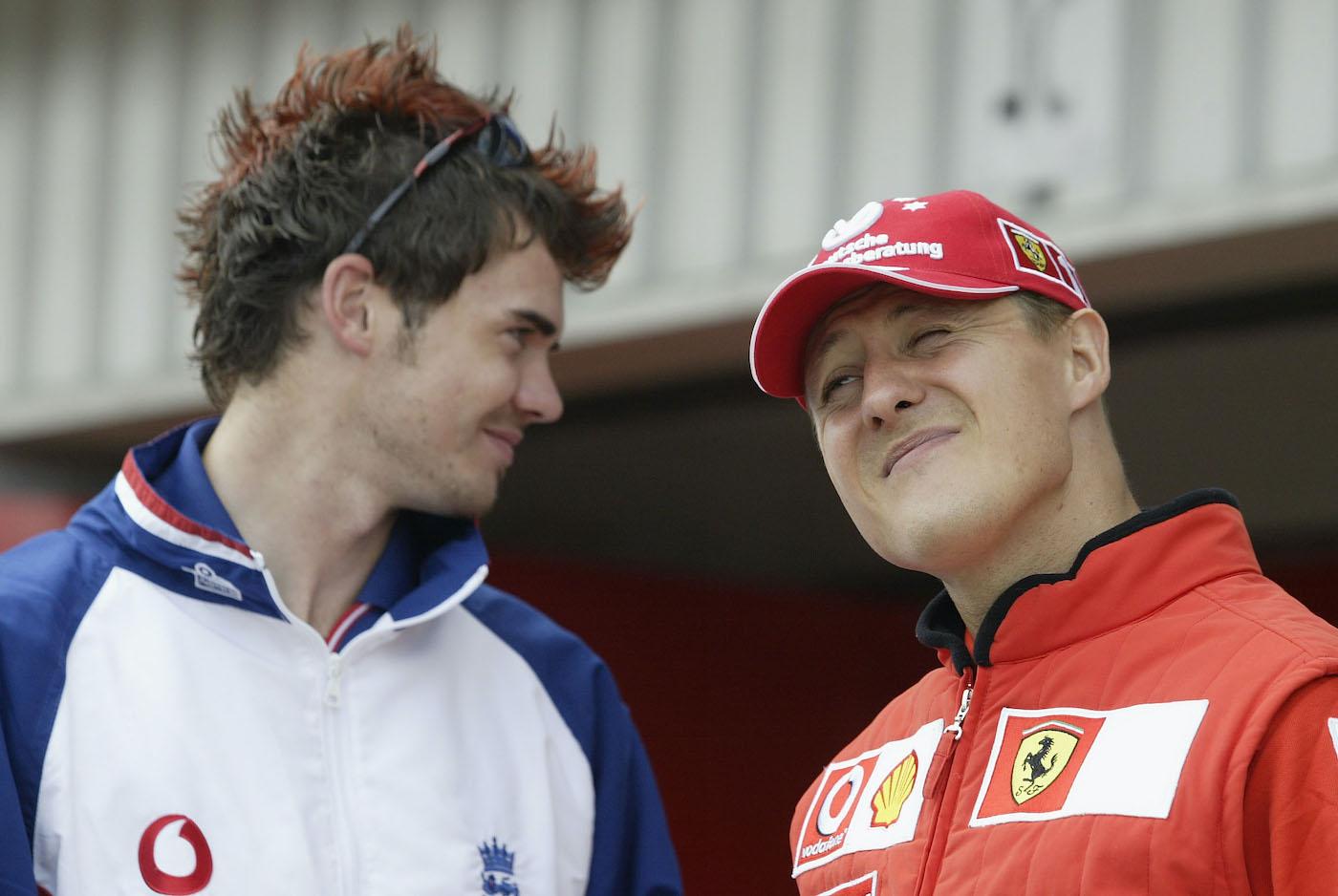 A racing stripe does not a speedster make, Michael Schumacher seems to say