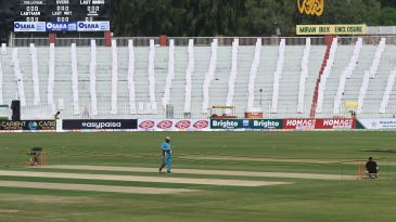 The stumps are being removed after New Zealand called off the tour of Pakistan