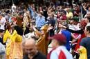 Edgbaston's crowd gets into the swing of Finals Day, Somerset vs Kent, Final, Vitality T20 Blast Finals Day, Edgbaston, September 18, 2021