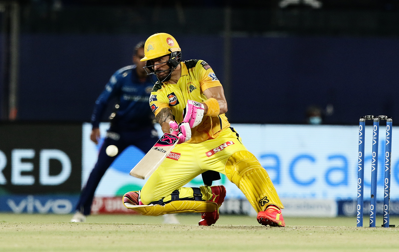 All change: Faf du Plessis has seen the language of batting transform since the beginning of T20s