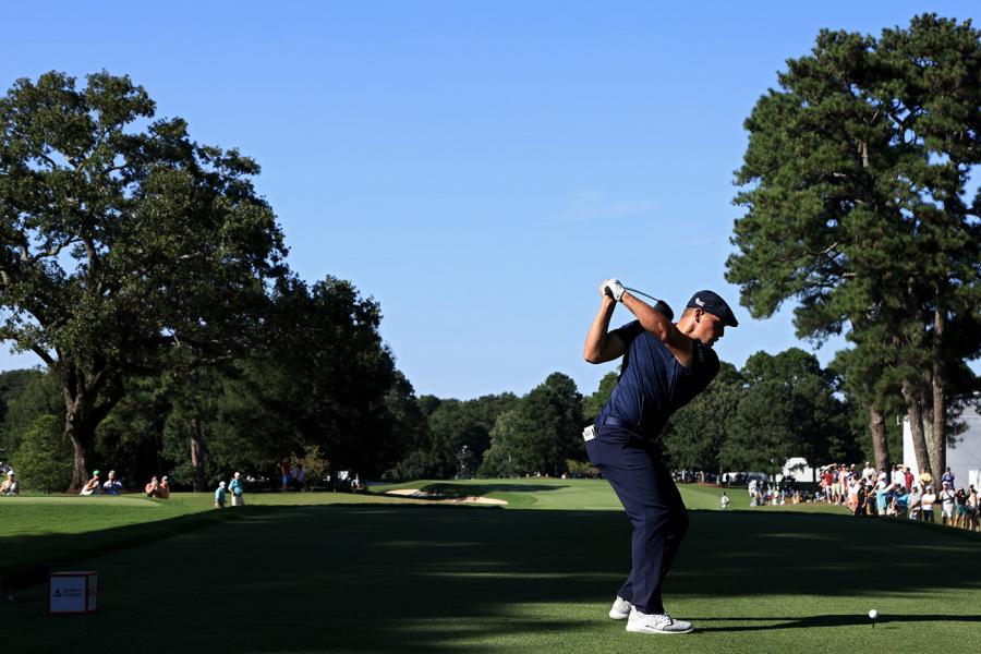 The incredible bulk: Bryson DeChambeau's weight gain helped him win his first golf major last year