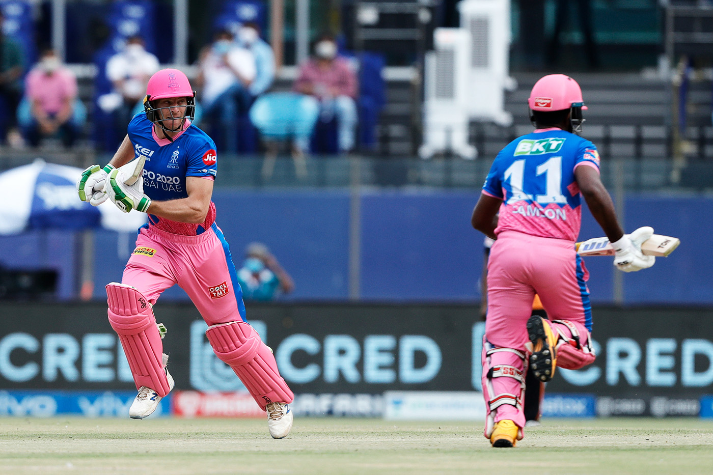 The fast lane: agile running between the wickets is a major asset in T20s