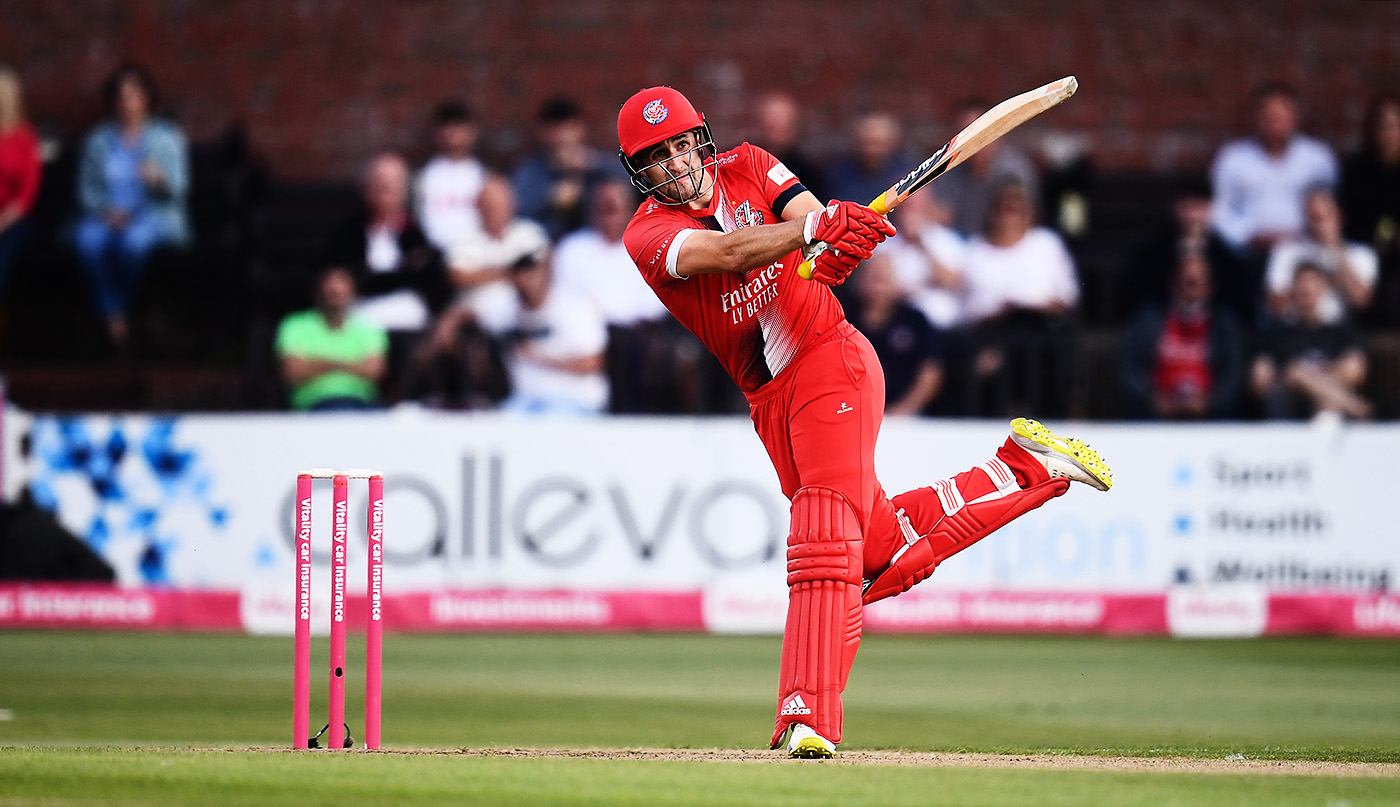 In 13 T20 innings starting with England's series against Pakistan in July, Liam Livingstone has scored 520 runs at a strike rate of 190.47