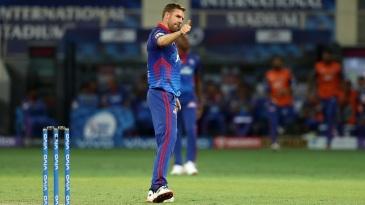 Anrich Nortje impressed on IPL return