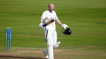 Adam Lyth ended his lean patch with a hundred