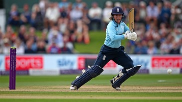 Tammy Beaumont gave England a solid foundation