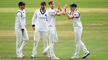 Craig Miles claimed four wickets in his opening spell